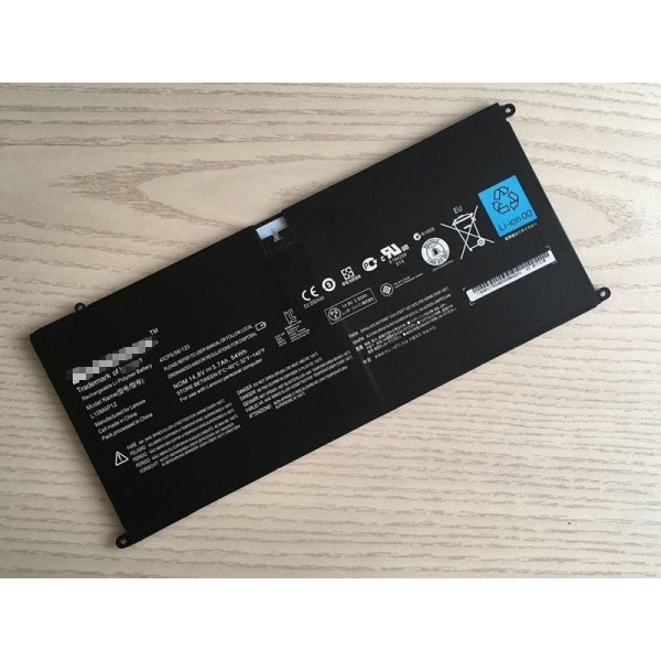 L10M4P12 Replacement battery For Lenovo IdeaPad Yoga 13 U300s Series 4ICP5/56/120