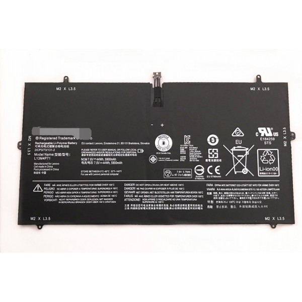 Lenovo L13M4P71 L14S4P71 Yoga 3 Pro 13 Pro-1370 laptop battery