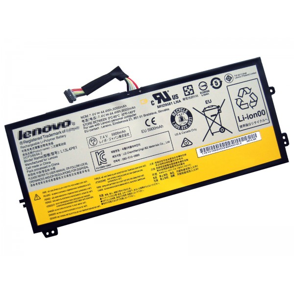 7.4V 44.4Wh Replacement Battery For Lenovo L13S4P61 L13M4P61 L13L4P61
