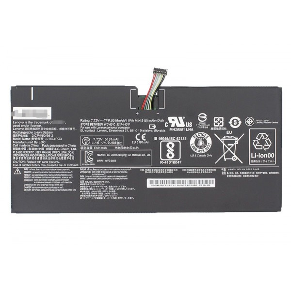 Lenovo  L15L4PC3 L15M4PC3  IdeaPad Miix 720 laptop battery