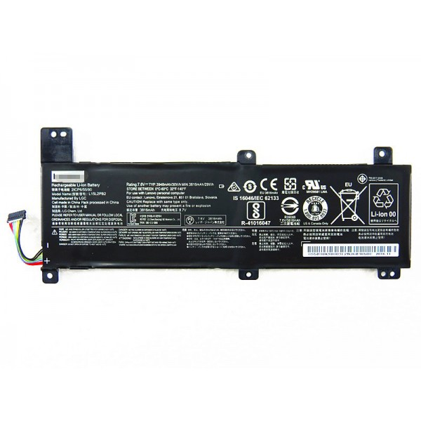 7.6V 30Wh Replacement Lenovo L15C2PB4 xiaoxin 310-14ISK L15M2PB2 laptop battery