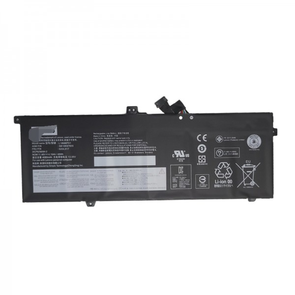 Lenovo 02DL017, 02DL019, L18C6PD1, L18L6PD1, L18M6PD1 Laptop Battery