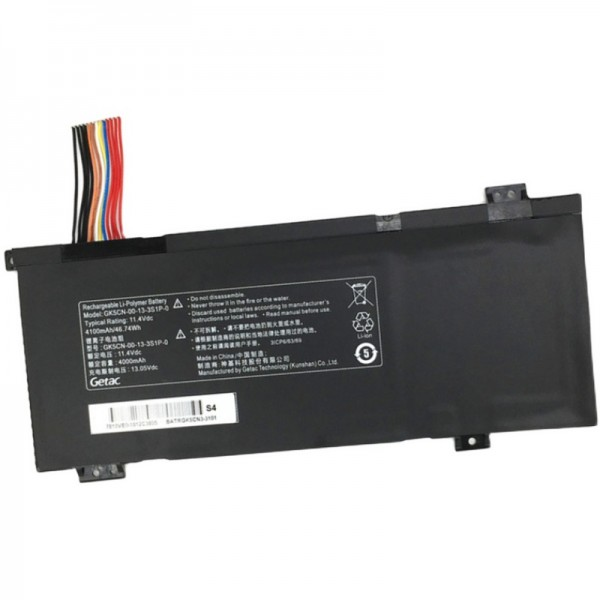 Replacement GK5CN-00-13-3S1P-0 11.4V 4100mAh 46.74Wh Battery