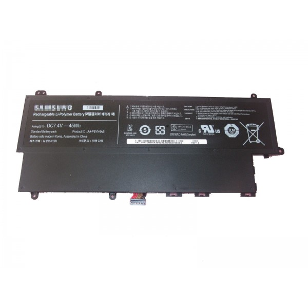 Replacement AA-PBYN4AB Battery for Samsung NP530U3C NP530U3B UltraBook 45Wh