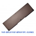 4400mAh VGP-BPS19 VGP-BPL19 Replacement Battery for Sony VAIO VPC-X113K X115LG