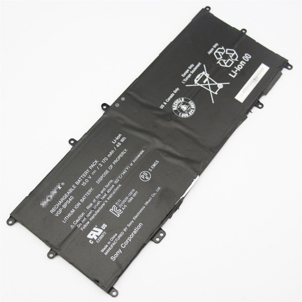VGP-BPS40 Replacement Battery for Sony Vaio Flip SVF 15A SVF15N17CXB 14A 48Wh