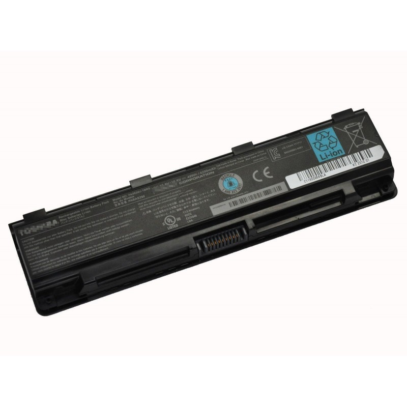 58d29f918536 Replacement PA5024U-1BRS 6 Cell Battery For TOSHIBA Satellite C855 ...